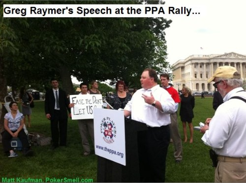 PPA Greg Raymer Rally Reality