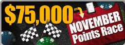 RedKings November $75k Points Race