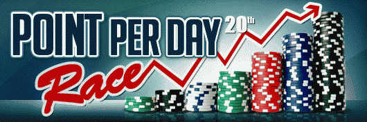 RedKings Point Per Day Race 20