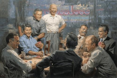 Republicans Poker Game