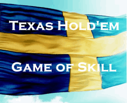Poker is game of skill in Sweden