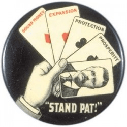 Roosevelt Poker Campaign Button