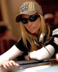 Team PokerStars professional poker player Vanessa Rousso.