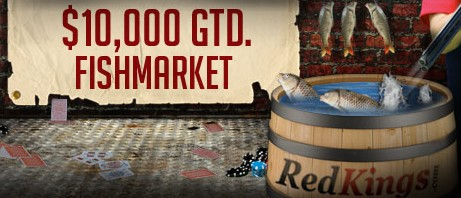 RedKings $10,000 First Depositor Fish Market
