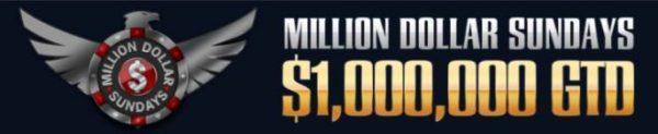 Black Chip Poker Million Dollar Sundays