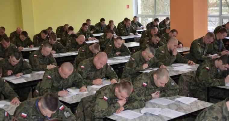 Egzamin do Szkoły Podoficerskiej