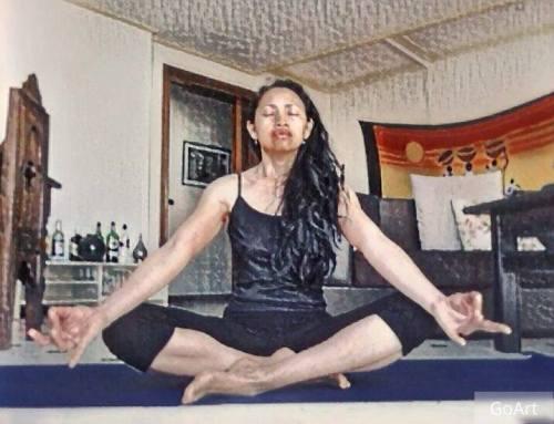 posture du lotus padmasana position yoga meditation