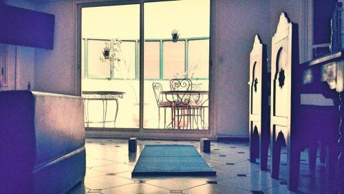 tapis de yoga espace pour yoga terrasse