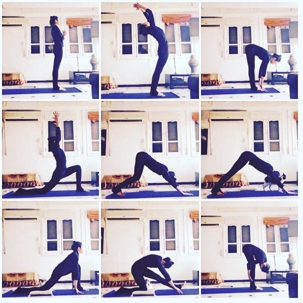 yoga à la maison yoga postures asanas débutant