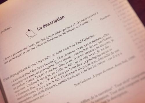 Page livre description citation paragraphe
