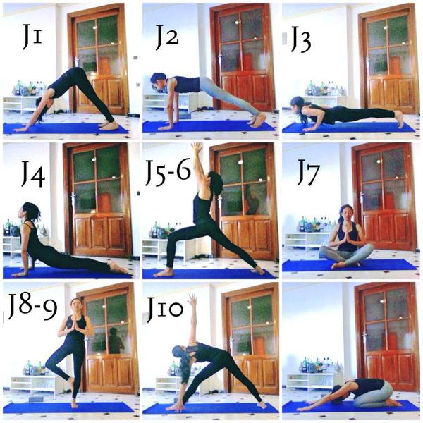 yoga débutant, postures de yoga, chien tête en bas, planche, chaturanga dandasana, chien tête en haut, posture du guerrier, pose du lotus, posture de l'arbre, pose du triangle, posture de l'enfant