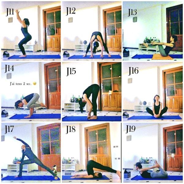 yoga d butant mon d fi j11 au j20 alina textes et r cits. Black Bedroom Furniture Sets. Home Design Ideas