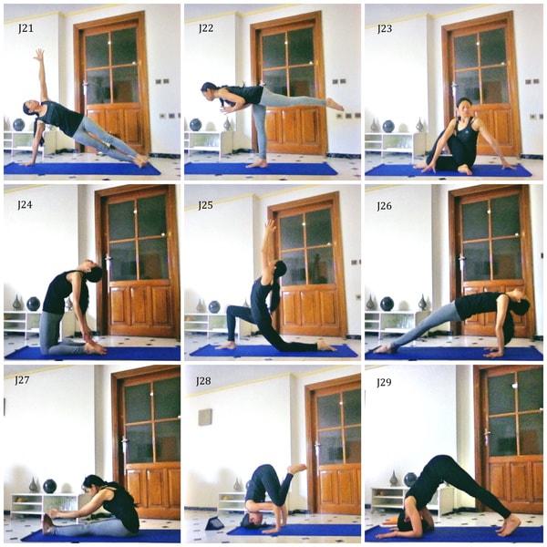 Défi yoga débutant postures de yoga kinoyoga ashtanga yoga
