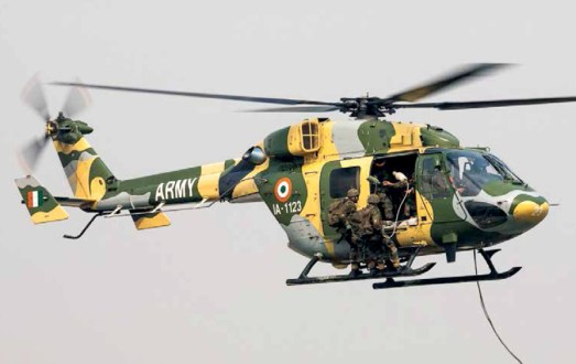 HAL's Light Utility Helicopter Chetak;