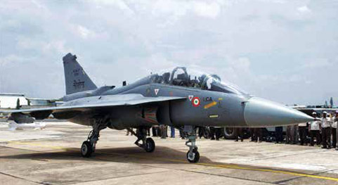 Indian Navyw Light Combat Aircraft (LCA) Tejas