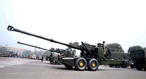Indigenous 155mm 52-calibre Advanced Towed Artillery Gun