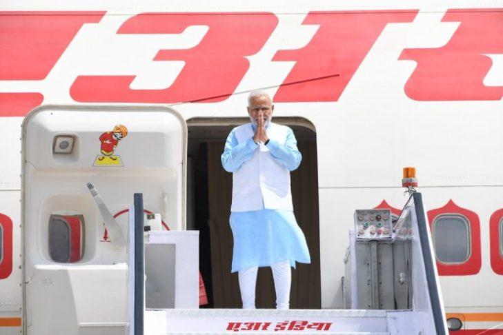 Modi on Africa tour