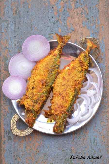 Rava Fried Mackerel, Rava fried fish, mackerel recipe, cooking mackerels, fried fish, Goan fish fry