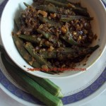 Stuffed Bhendi / Stuffed Okra