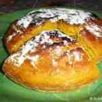 Delicious Eggless Mango cake