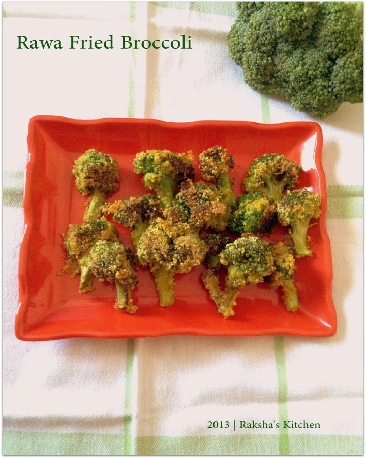 Rawa Fried Broccoli