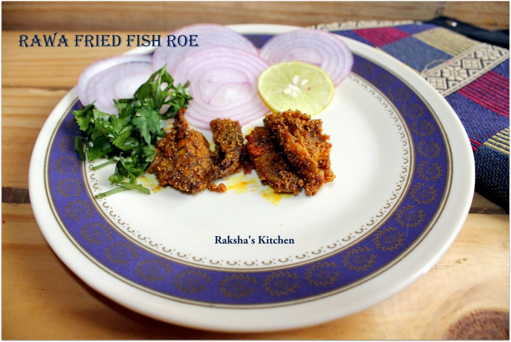 Fried Fish Roe