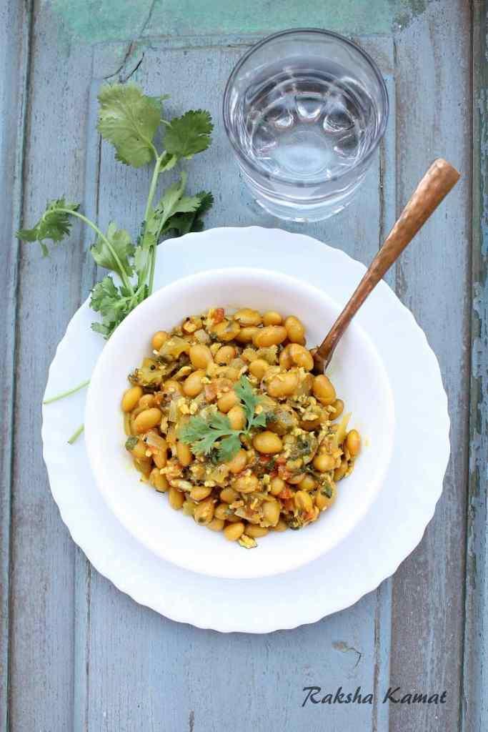 Avaryachi Usli | Field Beans Stir Fry | Avarekalu Usli