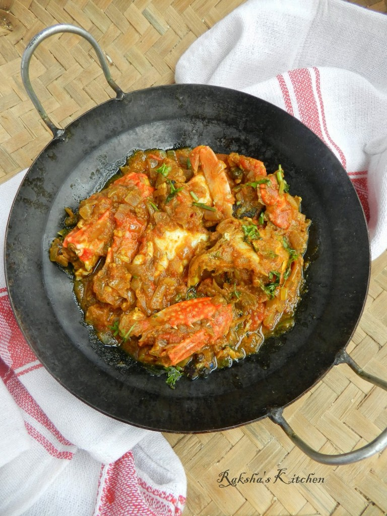 Crab Masala | Spicy Crab Gravy | Crab Recipes | Crab legs