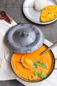 Kerala fish curry with coconut