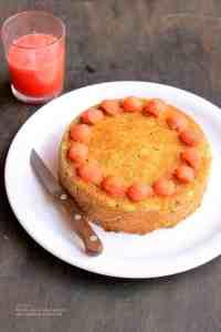 Watermelon rind cake