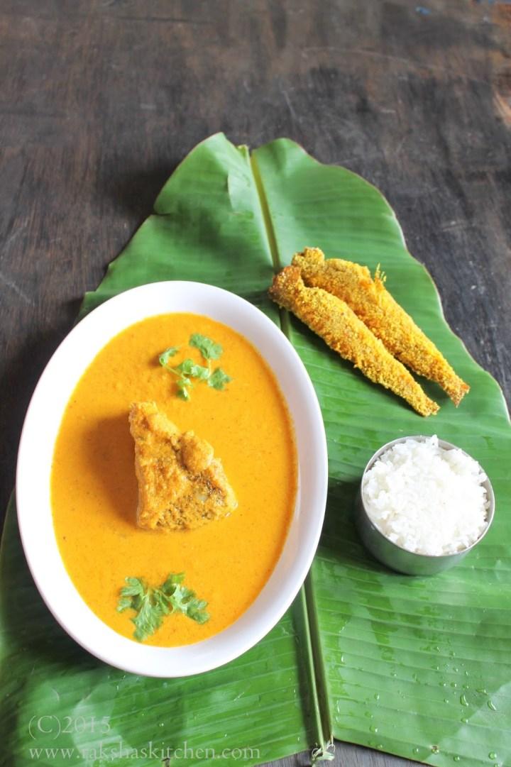 Pearl spot curry, Kalundhar hooman, karimeen curry