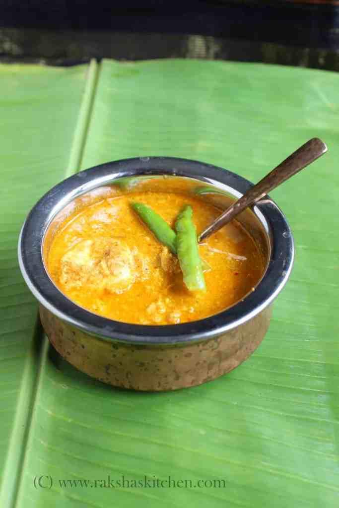 Goan style Egg drop curry