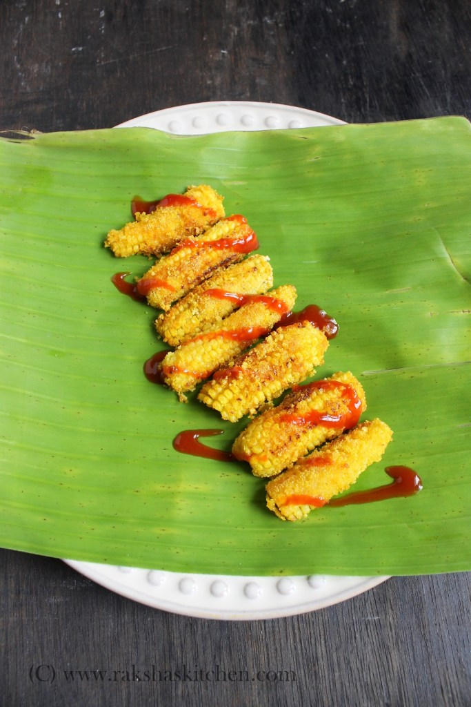 Rava Fried Baby Corn