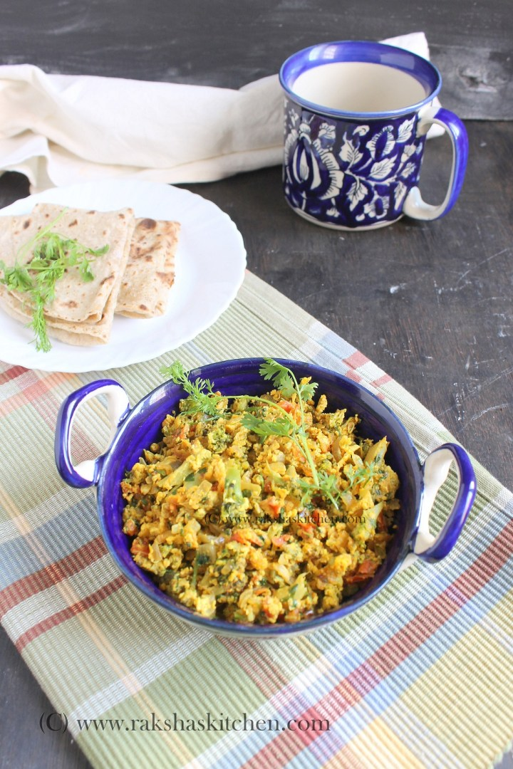 Broccoli Egg Burji