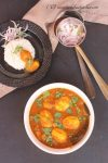 Egg curry with potato