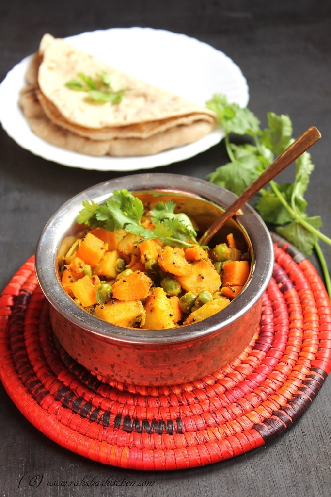 Aloo,Gajar And Matar Ki Subzi
