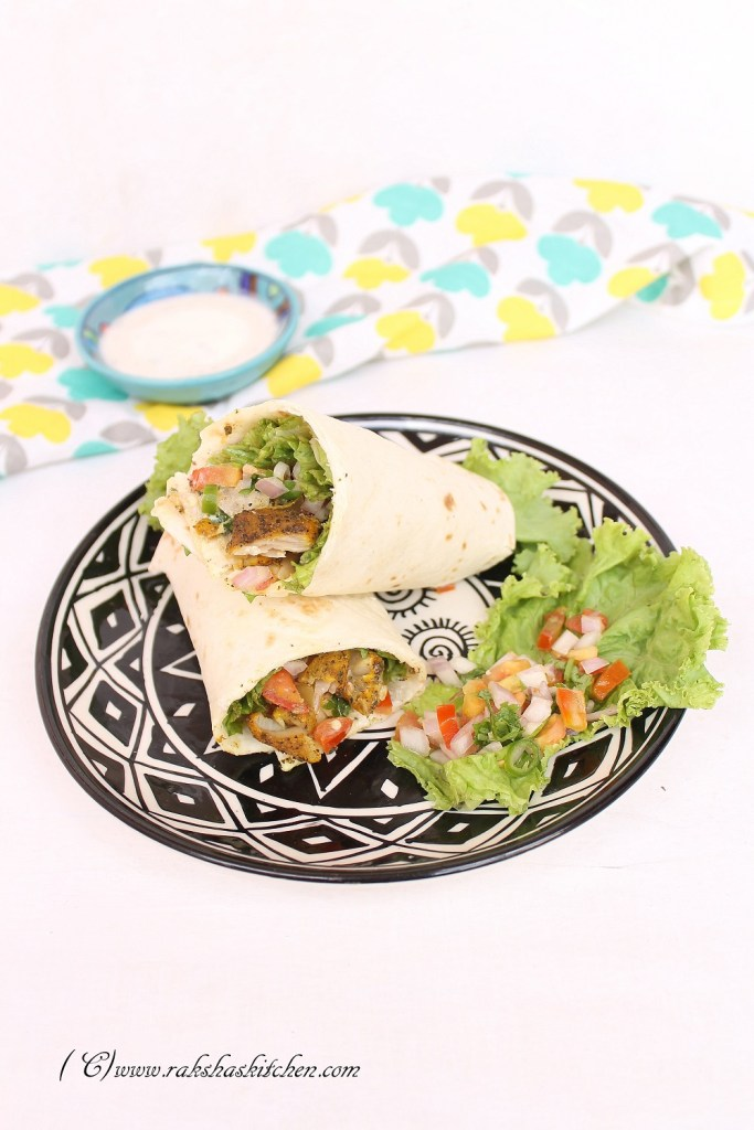 HEalthy fish wraps