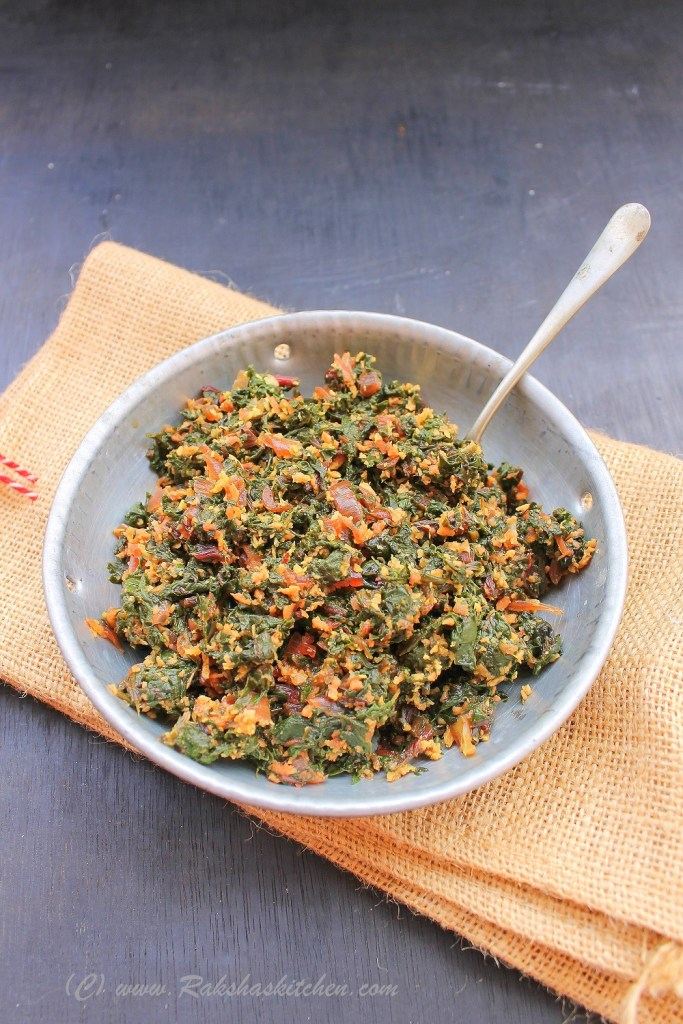 Beet Greens Stir Fry | Beetroot Leaves Subzi