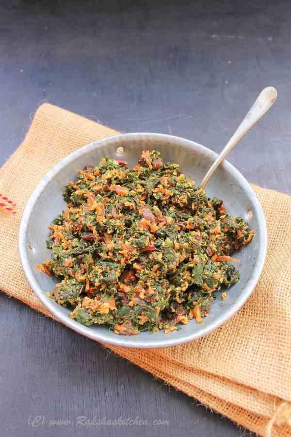 Beetroot Leaves Stir Fry