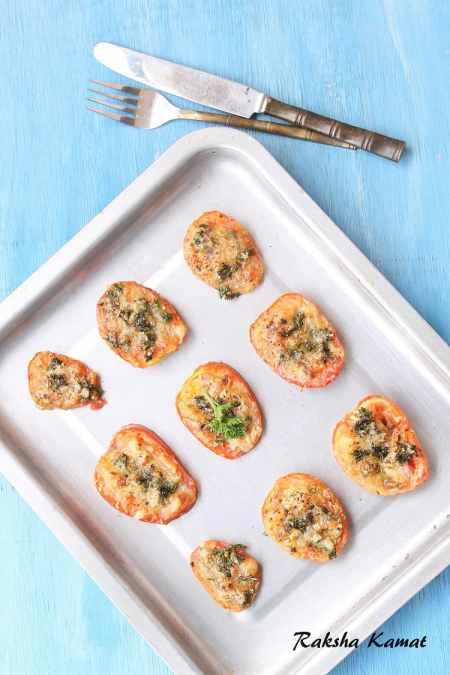 Parmesan Tomatoes Baked