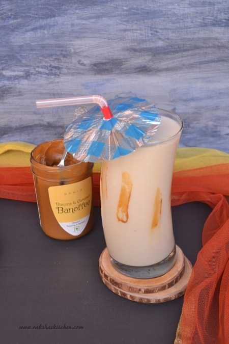 Banoffee Milkshake