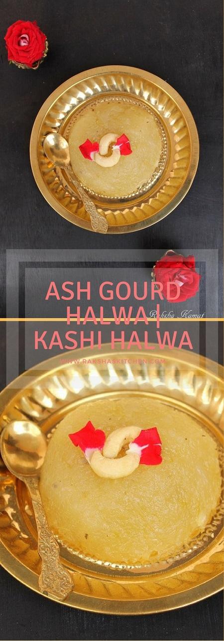 Ash gourd halwa