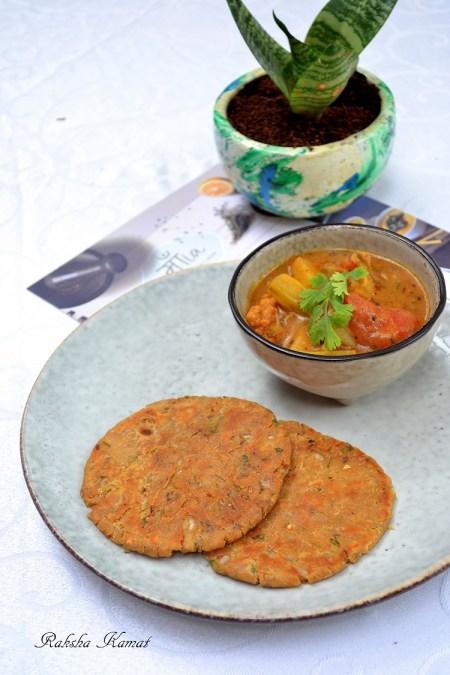 Sindhi Kadi with Koki Roti
