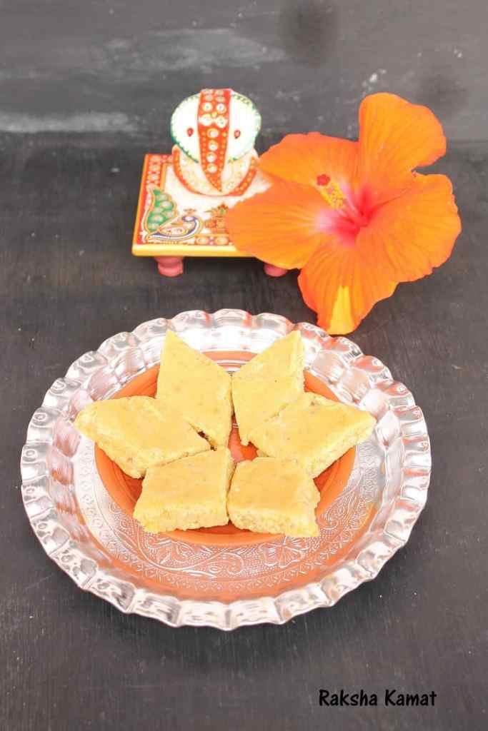 Chana Dal Kapa | Chana Dal Burfi