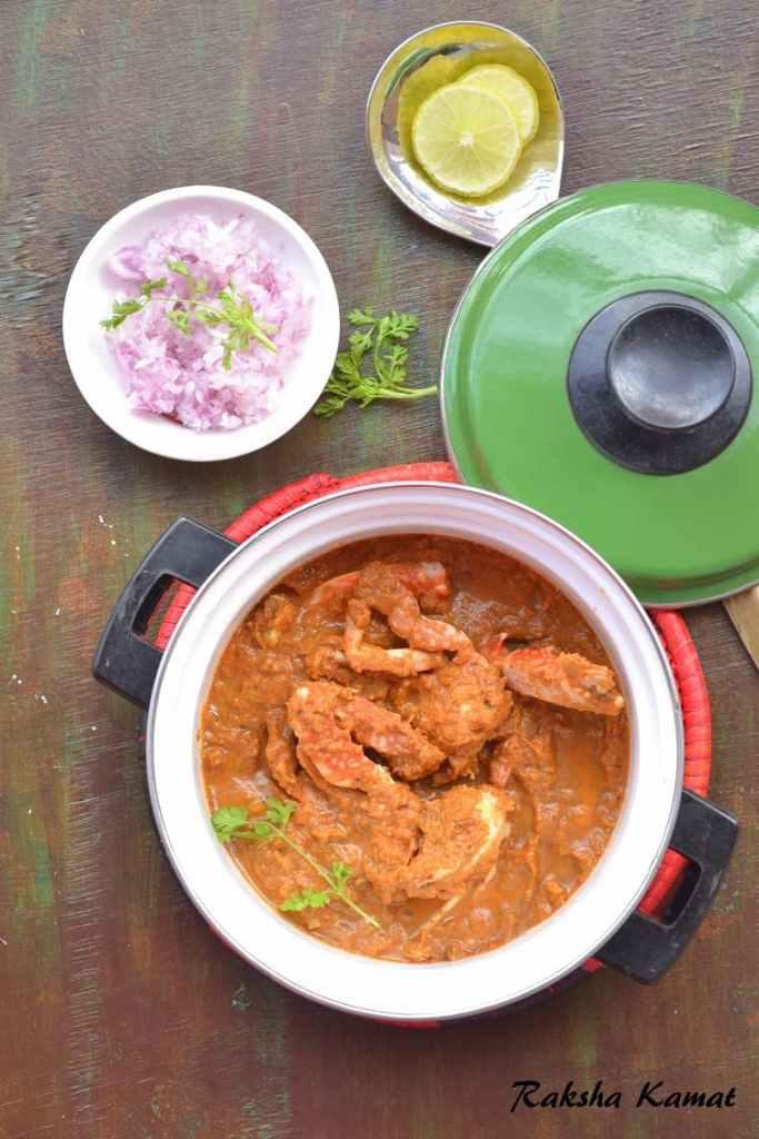 Goan non veg dishes archives rakshas kitchen goan crab curry kullyache tonak forumfinder Image collections