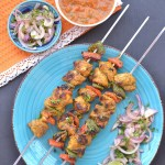 Chicken Tikka Kebab Recipe Made Using TTK Prestige Charcoal Barbecue