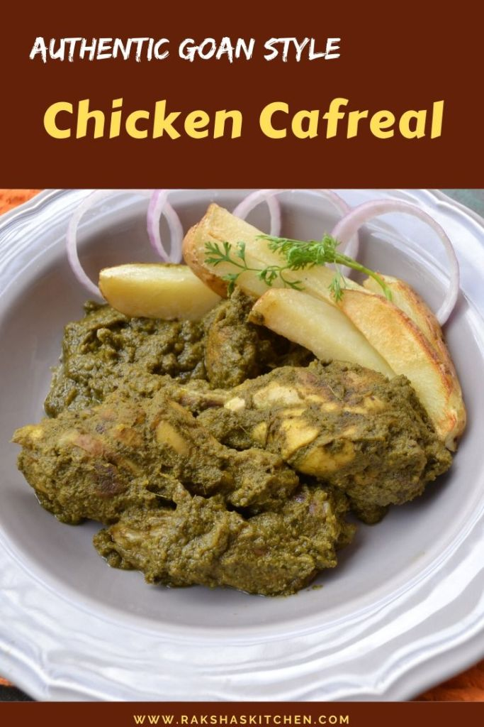 Authentic Goan chicken cafreal recipe