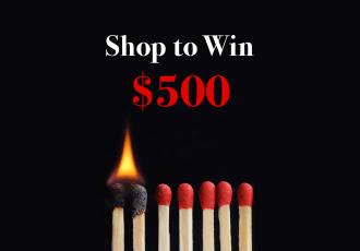 Shop to Win with Rakuten.ca this Black Friday