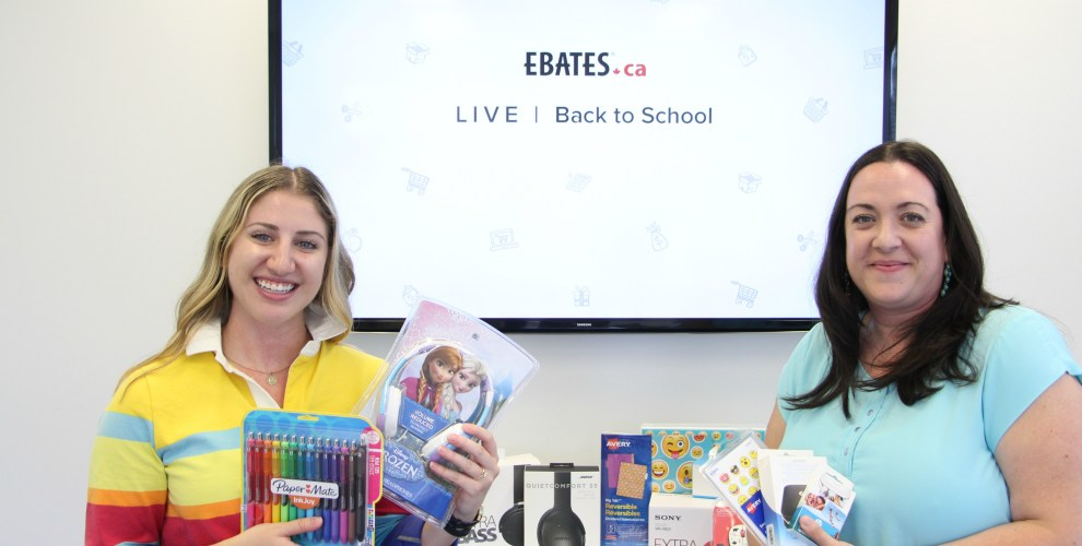 Facebook Live: Rakuten Canada chats about Back to School!