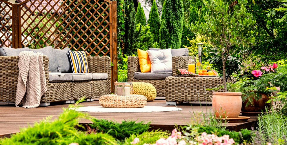 Outfitting your Outdoor Oasis